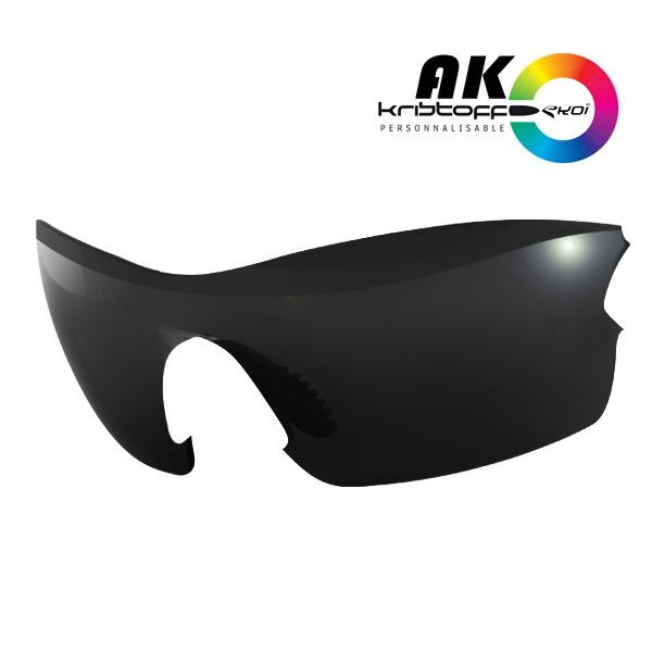 AK solbrillelinser SORT SPEJL