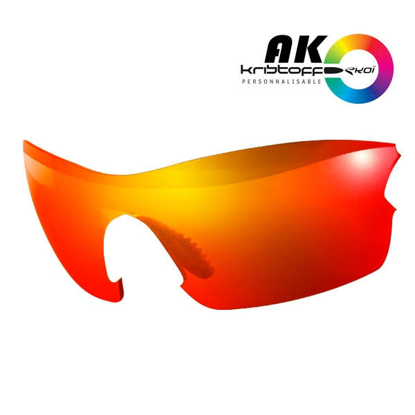 solbrillelinser AK REVO RØD