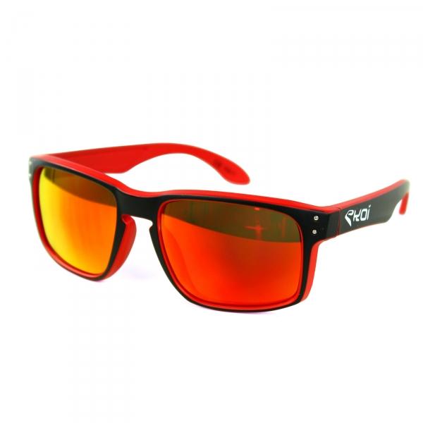 Briller EKOI Lifestyle rød sort