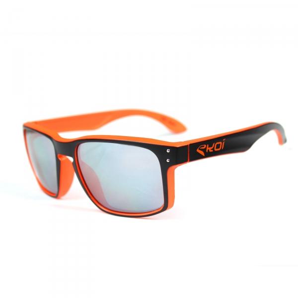 Briller EKOI Lifestyle sort/orange