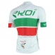 EKOI COMP10 trøje, hvid, grøn, rød