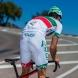 EKOI COMP10 GEL BREATH cykelshorts, hvid, grøn, rød