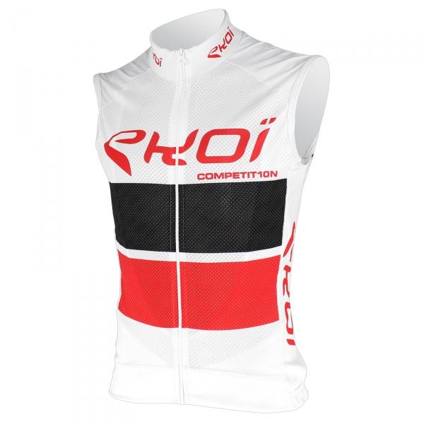 EKOI COMP10 trøje uden ærmer i Hvid Sort/Rød