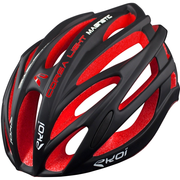 Casque EKOI CORSA LIGHT 1 Noir Rouge