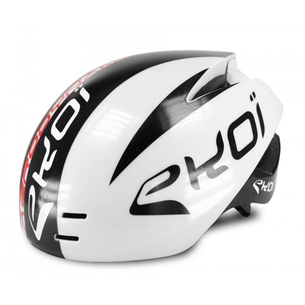 Casque EKOI AERODYNAMIC Magnetic Blanc