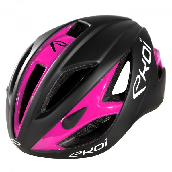 Hjelm EKOI AR13 mat Sort Pink