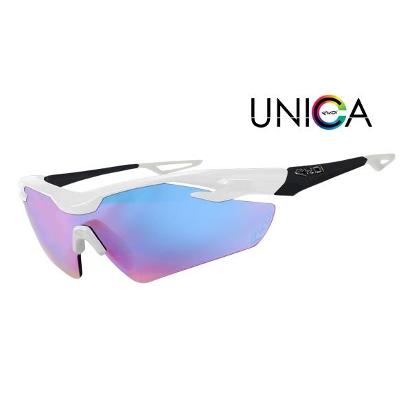 UNICA EKOI LTD Blanc Noir mat Cat1 Bleu