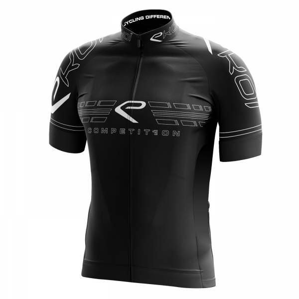 trøje EKOI COMP11 Full Black